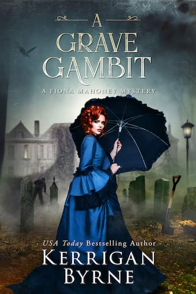 Book cover for A Grave Gambit by Kerrigan Byrne