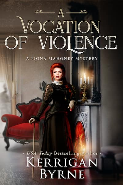 Book cover for A Vocation of Violence by Kerrigan Byrne