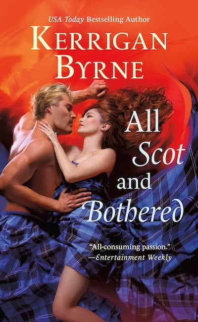 Book cover for All Scot and Bothered by Kerrigan Byrne