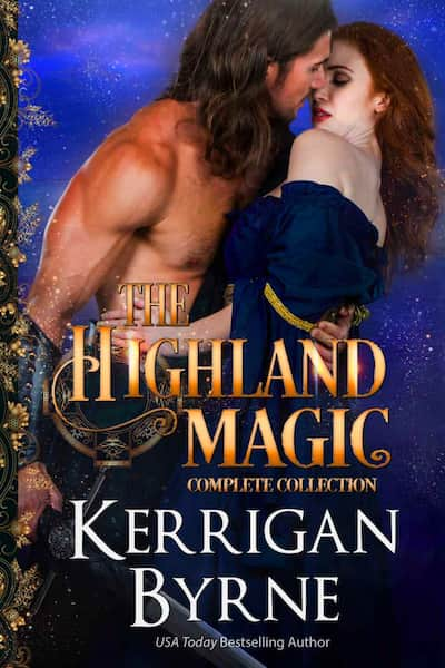 Book cover for Highland Magic omplete Series by Kerrigan Byrne
