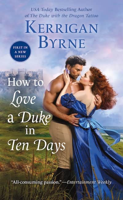 Book cover for How to Love a Duke in Ten Days by Kerrigan Byrne