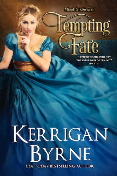 Book cover for Tempting Fate by Kerrigan Byrne