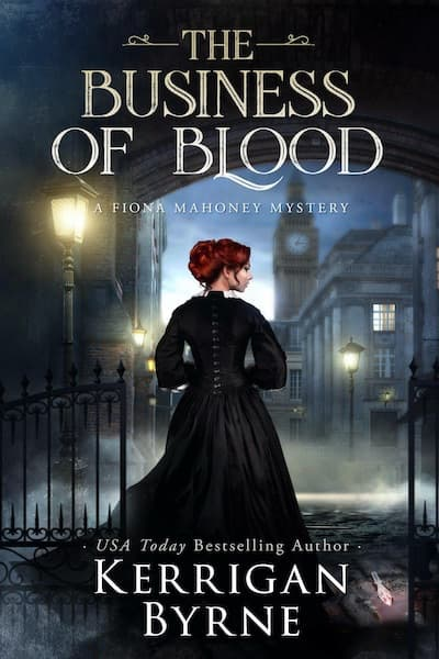Book cover for The Business of Blood by Kerrigan Byrne