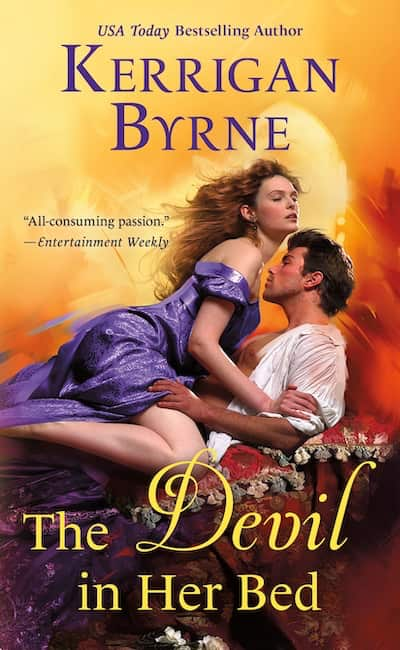 Book cover for The Devil in Her Bed by Kerrigan Byrne