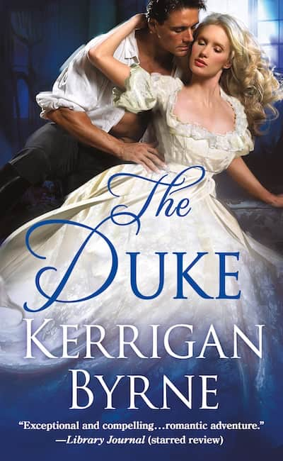 Book cover for The Duke by Kerrigan Byrne