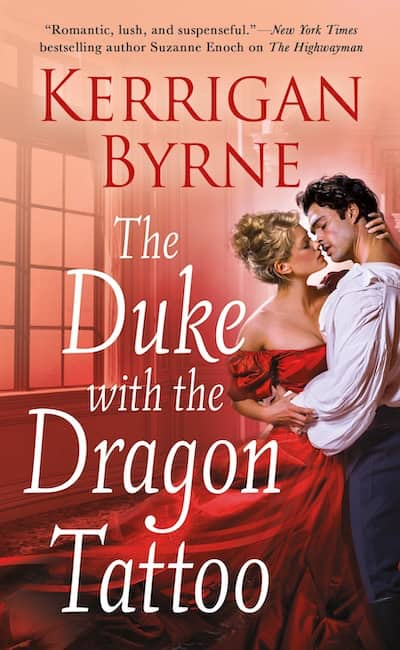Book cover for The Duke with the Dragon Tattoo by Kerrigan Byrne