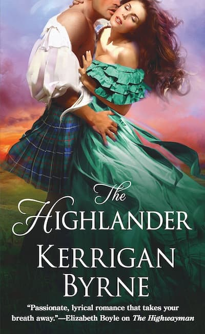 Book cover for The Highlander by Kerrigan Byrne