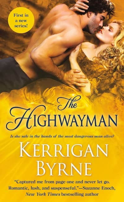 Book cover for The Highwayman by Kerrigan Byrne